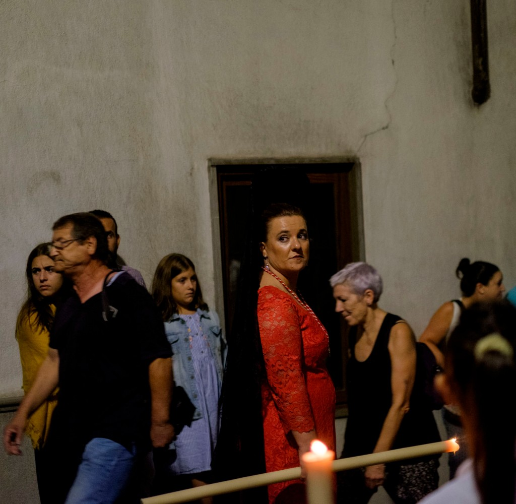 Flaming Madonna Granada Spain